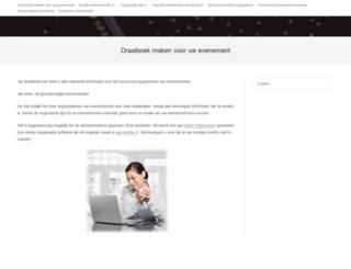 draaiboek.net screenshot