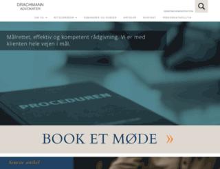 drachmann.dk screenshot