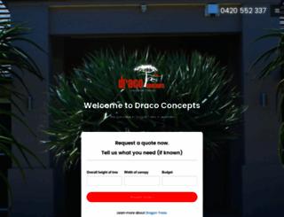 dracoconcepts.com.au screenshot