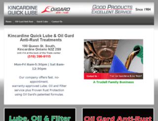 draft.quicklube-oilgard.com screenshot