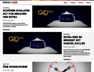 draftfcb.at screenshot