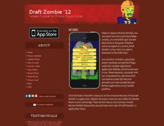 draftzombie.net screenshot