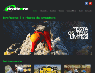 draftzone.pt screenshot