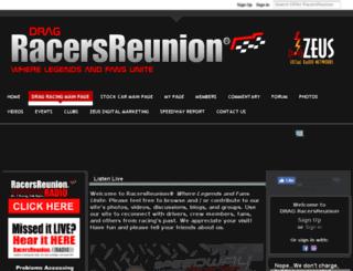 drag.racersreunion.com screenshot