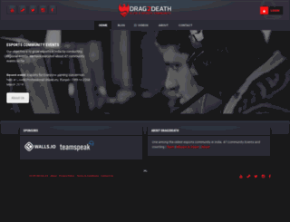 drag2death.com screenshot