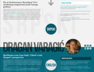 draganvaragic.com screenshot