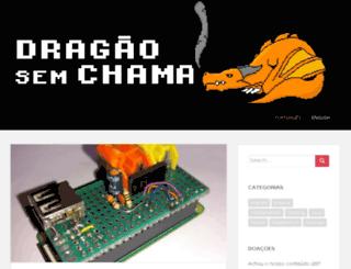 dragaosemchama.com.br screenshot