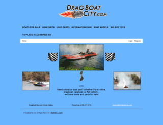 dragboatcity.com screenshot