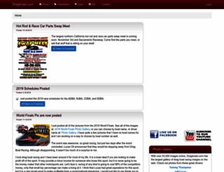 dragboats.com screenshot