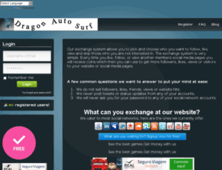 dragon-autosurf.com screenshot