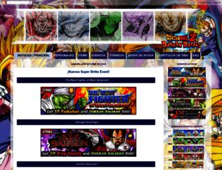 dragon-ball-dokkan-battle.blogspot.com.es screenshot