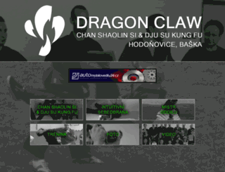 dragon-claw.cz screenshot
