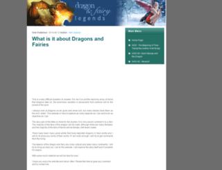 dragonandfairylegends.com screenshot