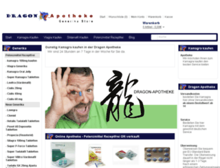 dragonapotheke.com screenshot