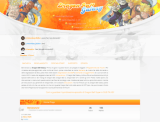 dragonball.forumcommunity.net screenshot