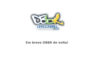 dragonballbrasil.com.br screenshot