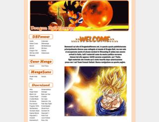 dragonballforever.net screenshot