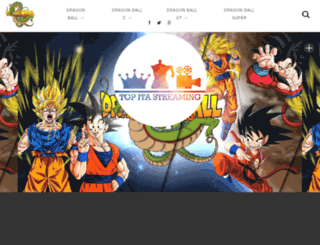 dragonballitastreaming.altervista.org screenshot