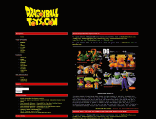 dragonballtoys.com screenshot