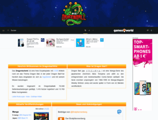 dragonballwiki.de screenshot