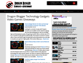 dragonblogger.com screenshot
