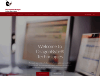 dragonbyte-tech.com screenshot