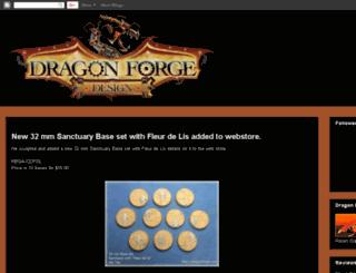dragonforgedesign.blogspot.com screenshot