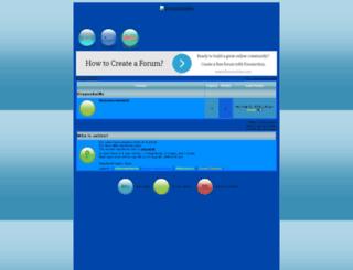 dragonkaims.forumotion.net screenshot