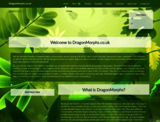 dragonmorphs.co.uk screenshot