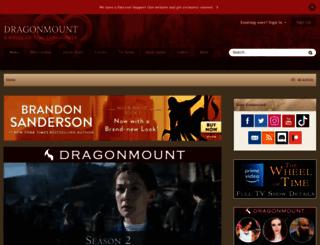dragonmount.com screenshot