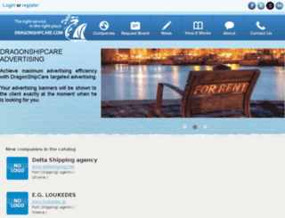 dragonshipcare.com screenshot