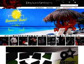 dragonsports.eu screenshot