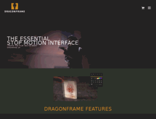 dragonstopmotion.com screenshot