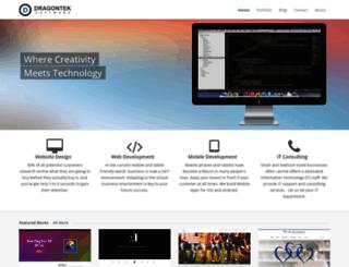 dragontek.com screenshot