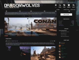 dragonwolves.com screenshot