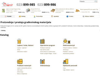dragovic.co.rs screenshot