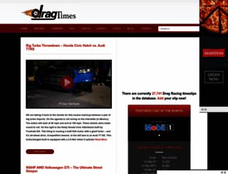 dragtimes.com screenshot