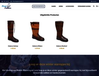 dragtoutdoor.nl screenshot