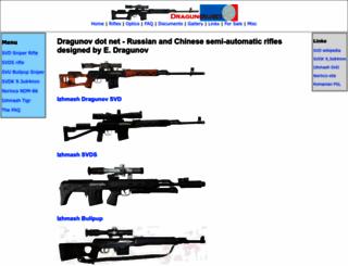 dragunov.net screenshot