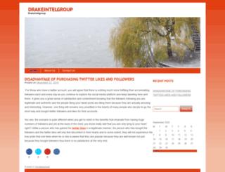 drakeintelgroup.com screenshot