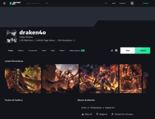 draken4o.deviantart.com screenshot