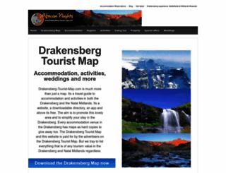 drakensberg-tourist-map.com screenshot