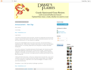 drakesflames.blogspot.com screenshot