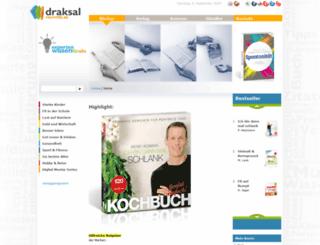 draksal-verlag.de screenshot