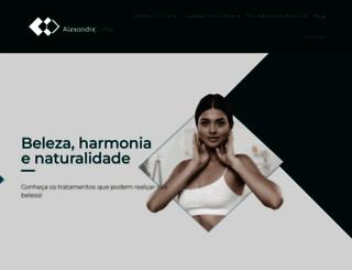 dralexandrelima.com.br screenshot