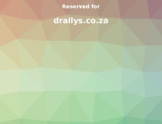 drallys.co.za screenshot
