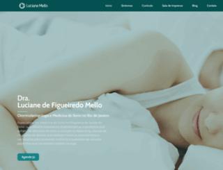 dralucianemello.com.br screenshot
