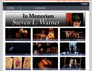drama.virginia.edu screenshot