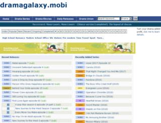dramagalaxy.mobi screenshot