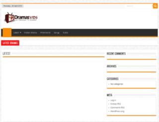 dramasvids.com screenshot